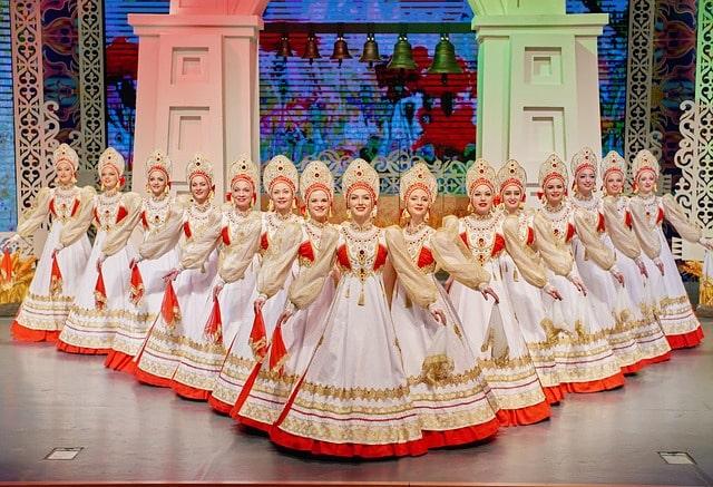show Kostroma en Moscú