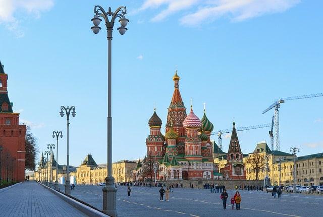 City Tour San Basilio Moscú