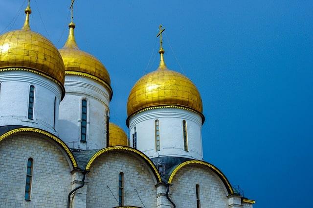 Maravillosas cúpulas de Iglesias rusas