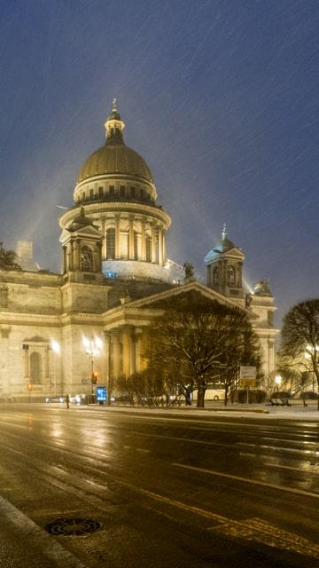 Puentes tour noche San Petersburgo