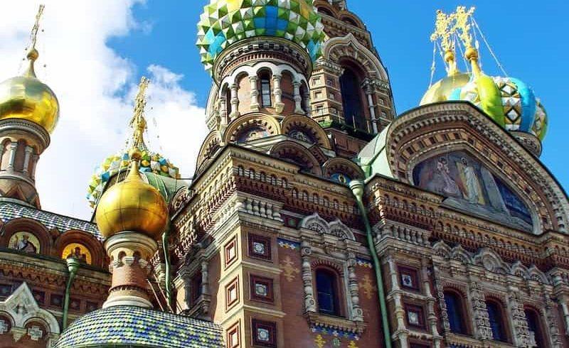 San Petersburgo Iglesia del Salvador