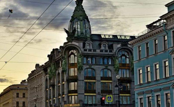 Tour a pie en San Petersburgo