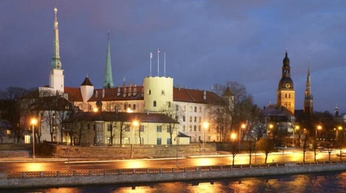 Conocer el castillo de Riga