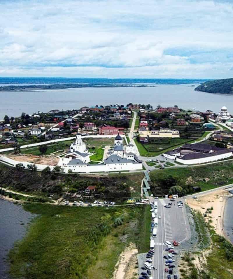 La isla de Sviyazhsk Tatarstán