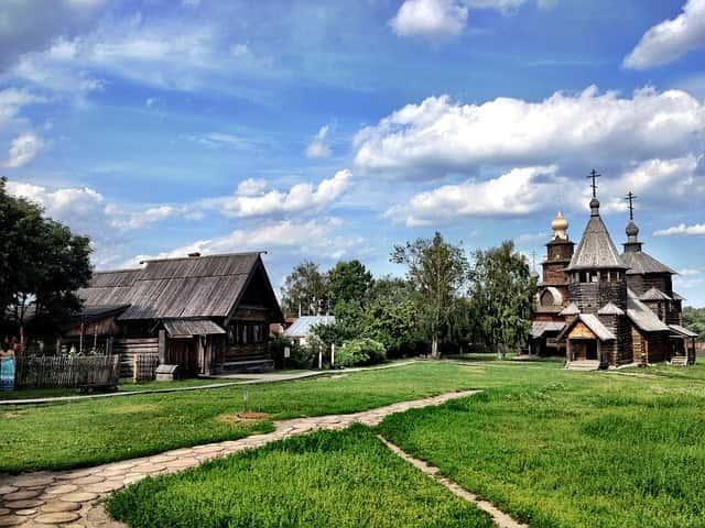 Museo de madera en Suzdal