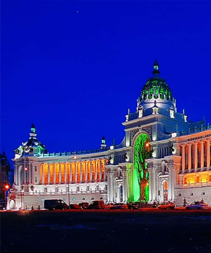 Tour nocturno en Kazan