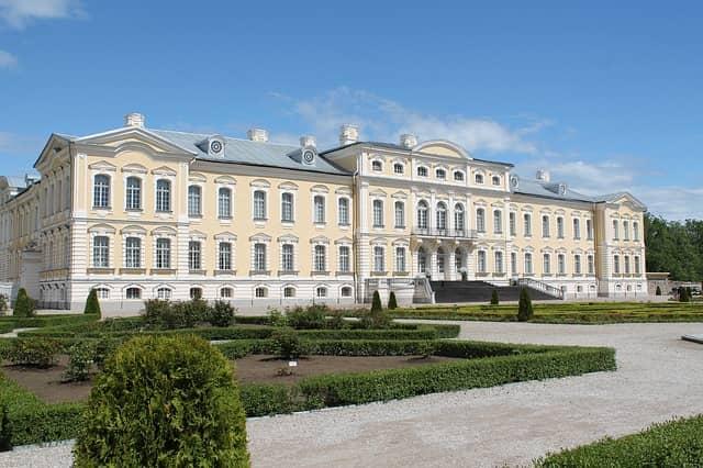 El Palacio de Rundale