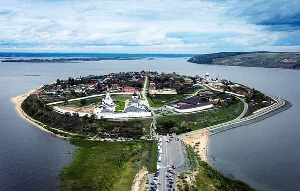 La isla Sviyazhsk Tatarstán