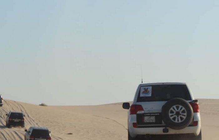 Excursión privada en el desierto de Qatar.