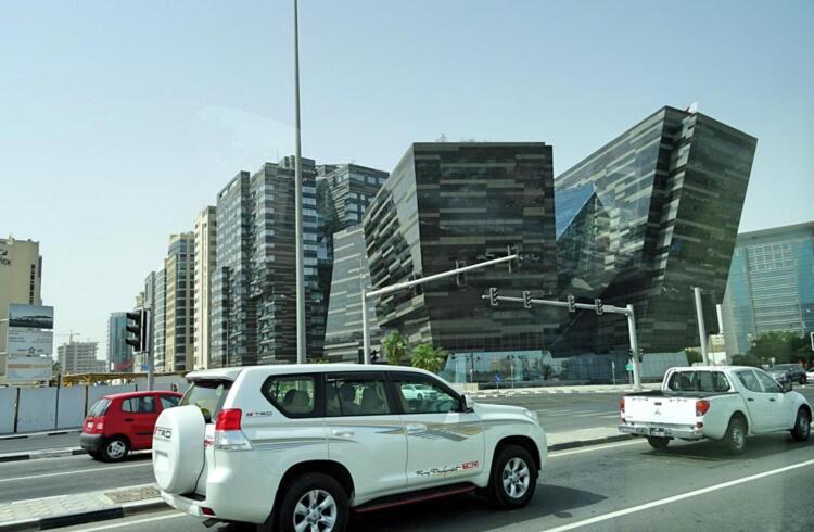 Turistas en Doha Qatar