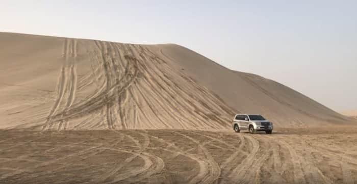 Excursión privada por el desierto de Qatar