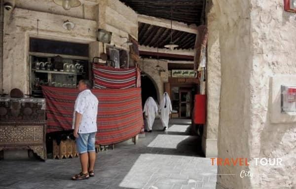 tour en los mercados de Qatar