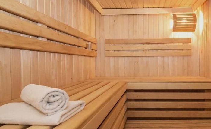 Sauna ruso cerca de Moscú