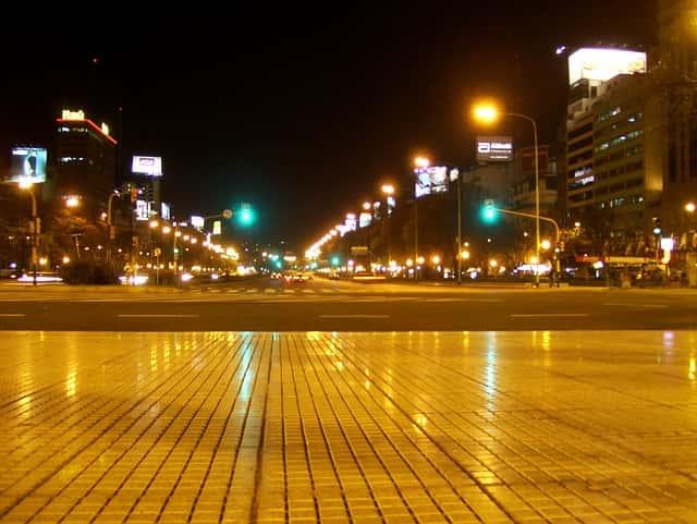 Tour nocturno en Buenos Aires