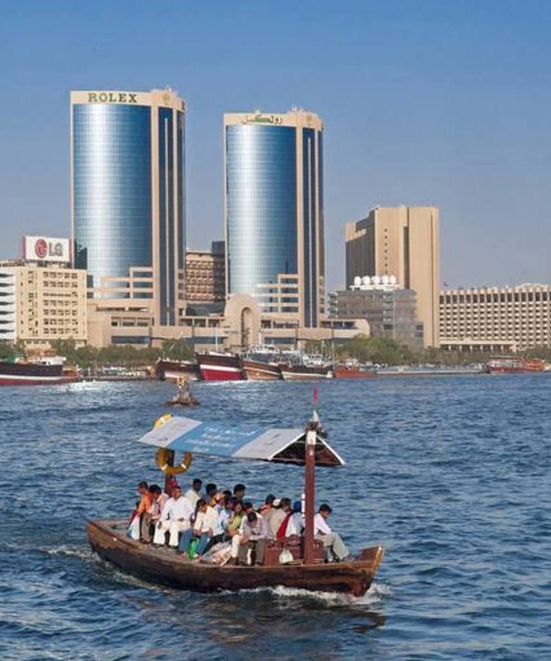 Paseo en ABRA en Dubai