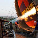 globo aerostático por Dubai