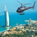 Vuelo en helicóptero en Dubai