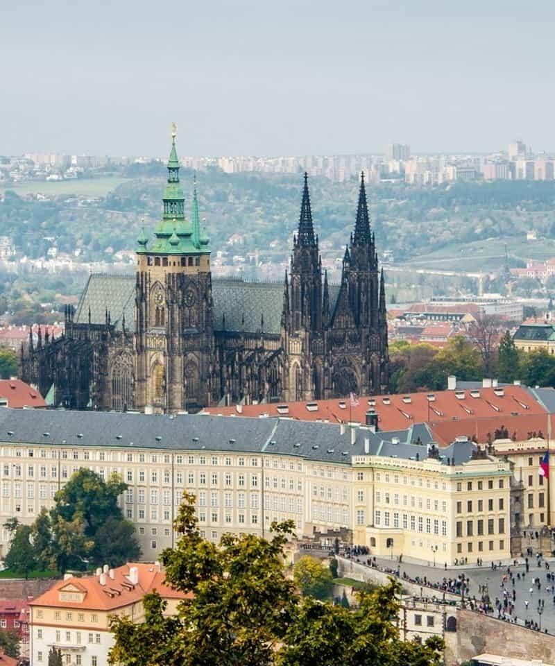 Tour por el castillo de Praga