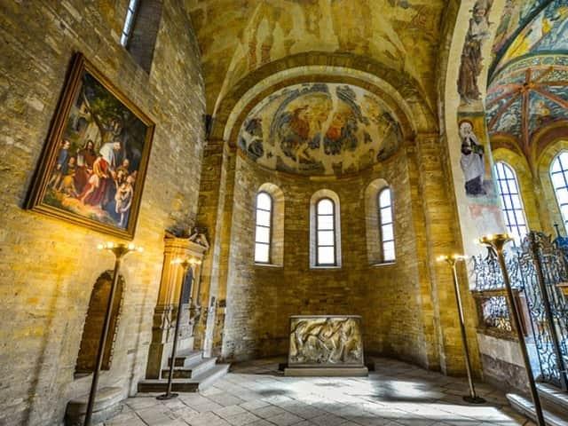 Los interiores del Castillo de Praga