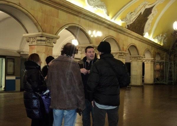 Tour privado en el metro