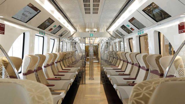 Panoramicas del metro de Qatar