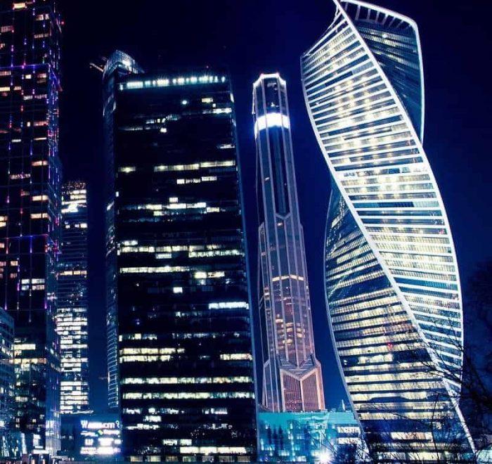 Tour nocturno en Moscú