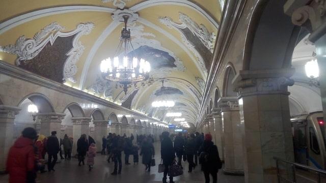 Estación Komcomolskaya