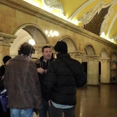 Miguel guia privado para el metro en Moscú