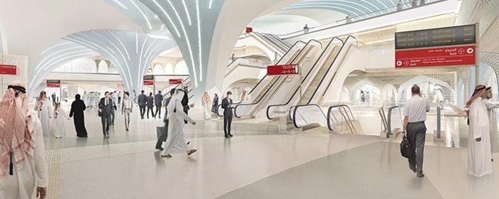 Metro de Doha estaciones