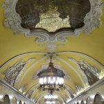 Recorrido turistico del metro de Moscú