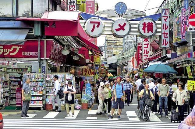 Edo antiguo y Tokio moderno