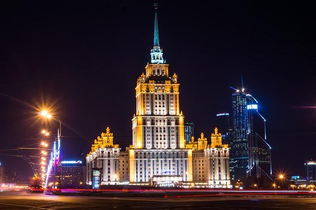 Excursión nocturna en Moscú