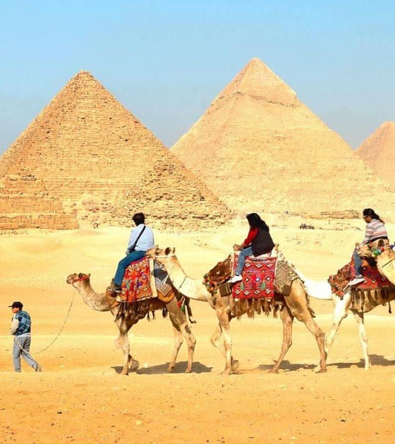 Tour a las piramides de Giza