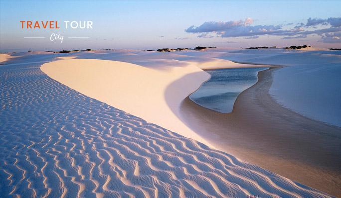 Temperatura en el desierto blanco