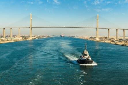 Egipto en el mar