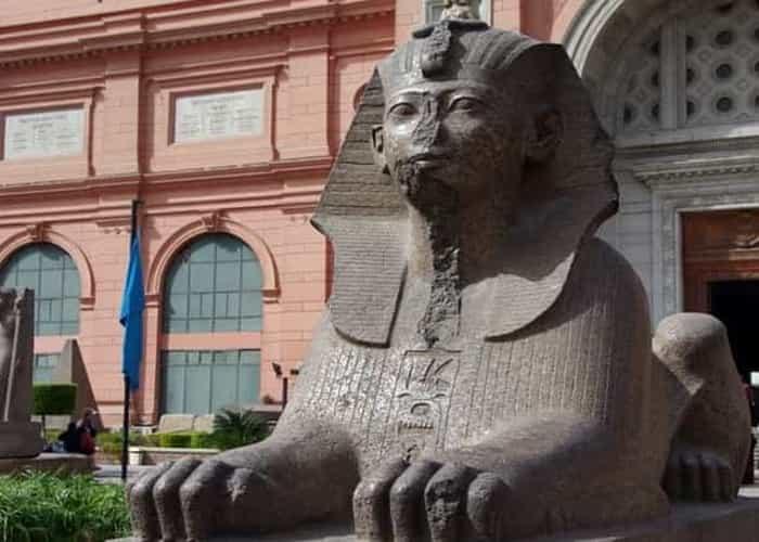 Visita guiada al museo Egipcio