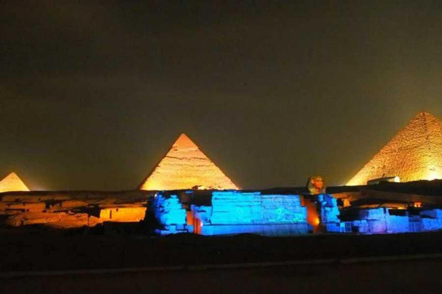 Tour nocturno a las pirámides de Giza