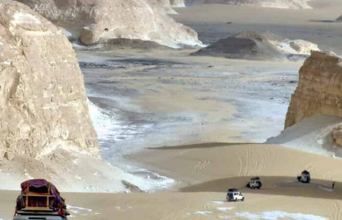Excursión desierto Blanco Egipto