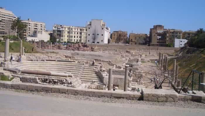 El teatro romano Alejandría