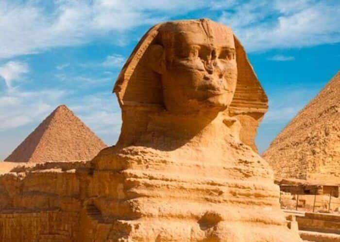 Visita a las piramides de Giza
