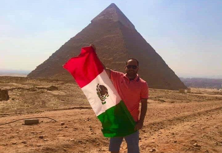 Turistas de México en Egipto