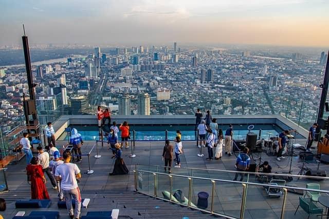 El mirador de Bangkok