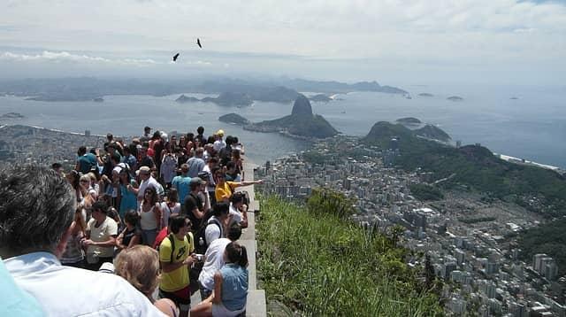 Turistas en Río
