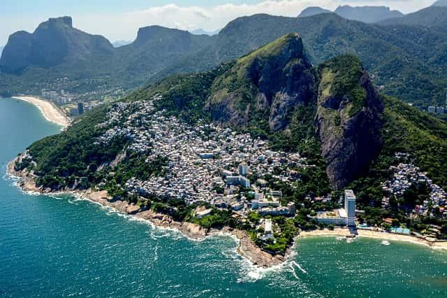 Paisaje de las Favelas