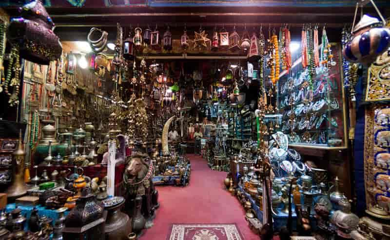 Matrah mercado de Omán