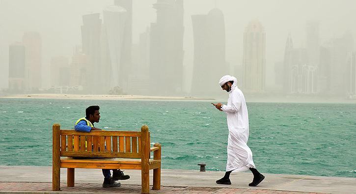 los qataríes son millonarios