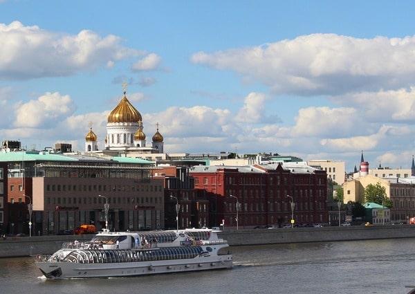Compra de tickets para barco en Moscú